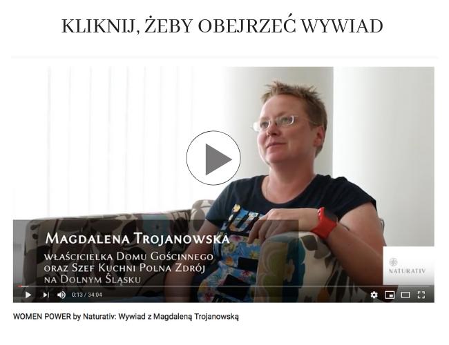 Wywiad z Magdaleną Trojanowską