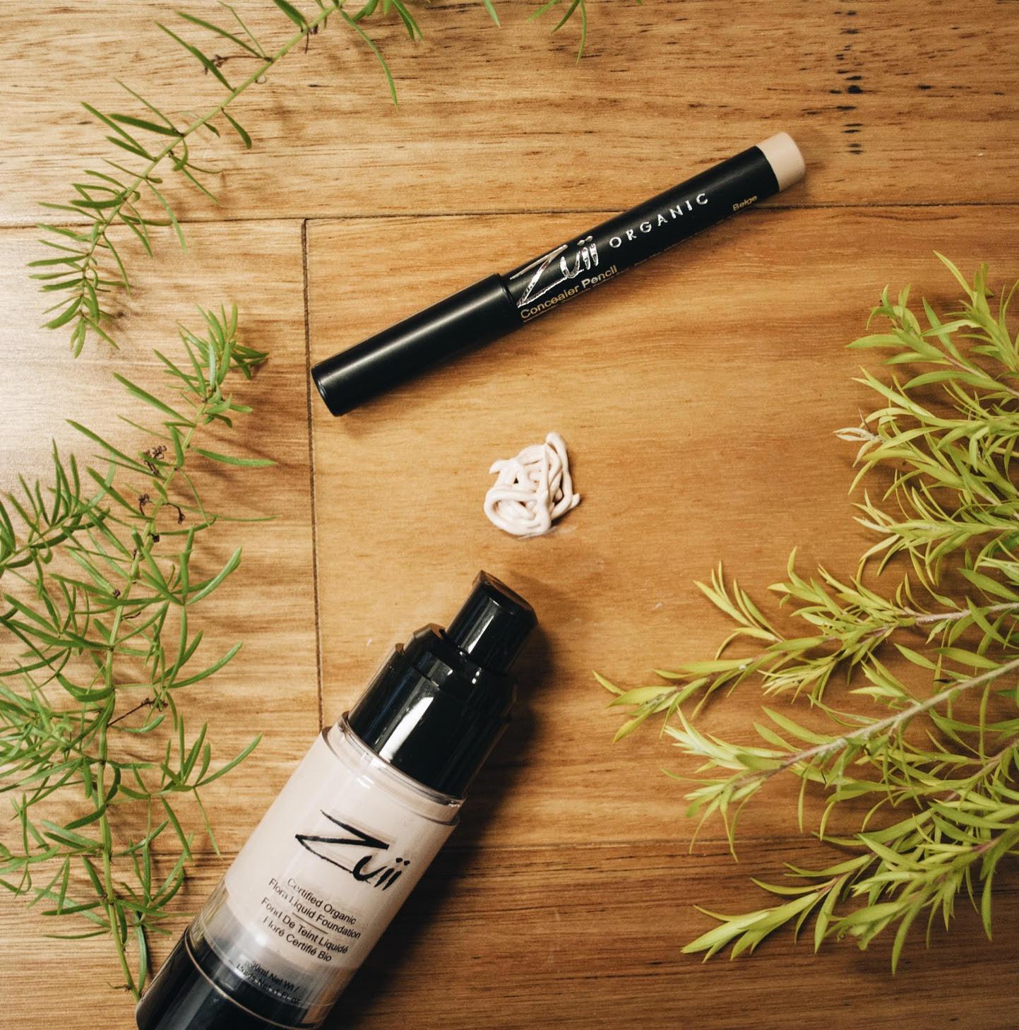 Organiczne podkłady pod makijaż