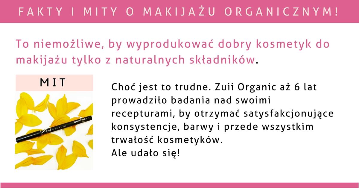 To niemożliwe, by wyprodukować dobry kosmetyk tylko z naturalnych składników.
