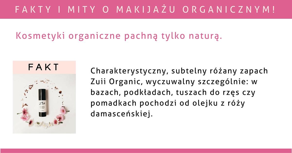 Kosmetyk organiczny pachnie tylko naturą.