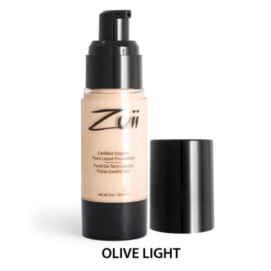 Podkład mineralny w płynie - Olive Light [Bardzo jasny ciepły]