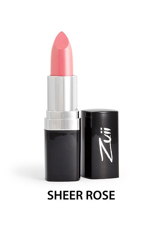 Naturalna szminka do ust - Sheer Rose [Intensywny róż]