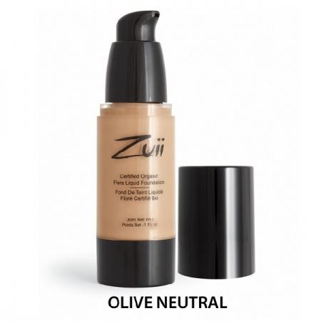 Podkład mineralny w płynie - Olive Neutral [Średni ciepły]