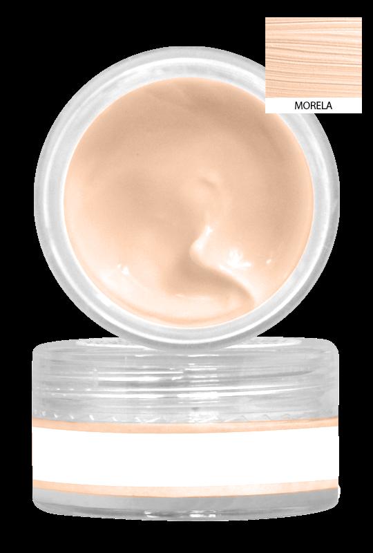 Mini naturalna baza pod makijaż - Apricot [Morelowa]